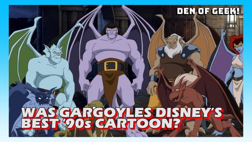Was Gargoyles Disney S Best 90s Cartoon Video Dailymotion