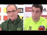 Wales v Ireland - Martin O'Neill & Seamus Coleman Press Conference