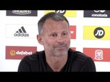 Wales v Republic Of Ireland - Ryan Giggs Full Press Conference