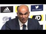 Scotland 0-4 Belgium - Roberto Martinez Full Post Match Press Conference - UEFA Nations League