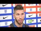 Sergio Ramos Speaks To Press After Nations League Victory At Wembley - Español/Spanish