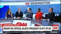 Senior White House official blasts president in New York Times OP-ED. #NewYork #WhiteHouse