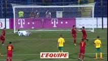 Les buts de Monténégro-Lituanie (2-0) - Football - L. nations