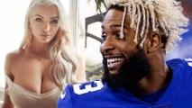 Instagram Model Lindsey Pelas Challenges Odell Beckham Jr. to Slide Into Her DMs