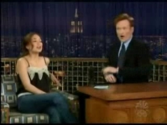 Kristin Kreuk on Conan O'Brien
