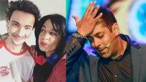 Aayush Sharma & Chutki's KISS goes viral; Watch Video   FilmiBeat