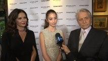 Michael Douglas & Catherine Zeta-Jones Support Daughter Carys