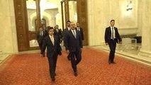 Bakan Çavuşoğlu, Romanya Temsilciler Meclisi Başkanı Liviu Dragnea ile Görüştü