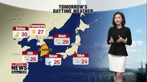 Moderate weather continues, rain expected on Jeju tonight _ 091118