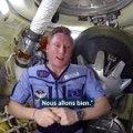 """""""Tout est calme à bord."""" Depuis l'ISS, ce cosmonaute assure que la fuite d'oxygène est réparée"""
