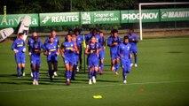 Fabio et Kayembe de retour à l'entraînement