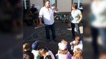 Les élèves d'Ottonville découvre les instruments de musique