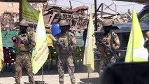 قوات سوريا الديموقراطية تطلق هجوماً على آخر جيب تحت سيطرة تنظيم الدولة الاسلامية في شرق سوريا