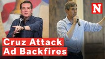 Latest Ted Cruz Attack Ad Wrongly Accuses Beto O'Rourke Of Being Pro Flag Burning