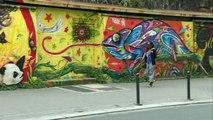 Portrait de Doudou Style, lauréate du Prix du graffiti et du street art