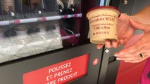 Le 1er distributeur de rillettes du Mans