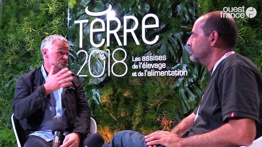 Terre 2018 - Laurent PINATEL, porte-parole, Confédération paysanne