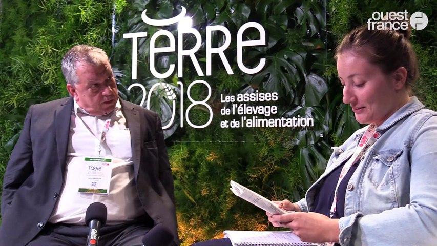 Terre 2018 - Hervé BALUSSON, PDG, Olmix Group