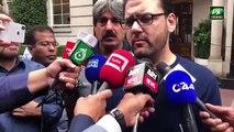 Hussain Nawaz Media Talk Outside Avenfield After Begum Kulsoom Nawaz Death