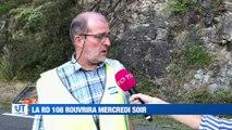Info / Actu Loire Saint-Etienne - A la Une : La route départementale 108 à hauteur de Saint-Paul-en-Cornillon devrait rouvrir mercredi soir.