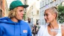 Alec Baldwin Talks Justin Bieber and Hailey Baldwin's Engagement | Billboard News