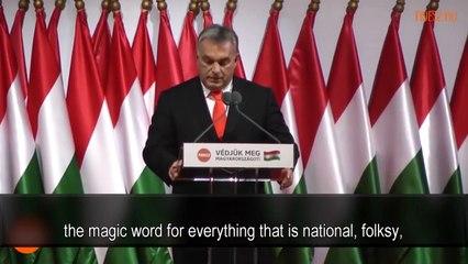 Viktor Orban So wie wir das Sowjetimperium besiegten, werden wir Soros' Imperium besiegen