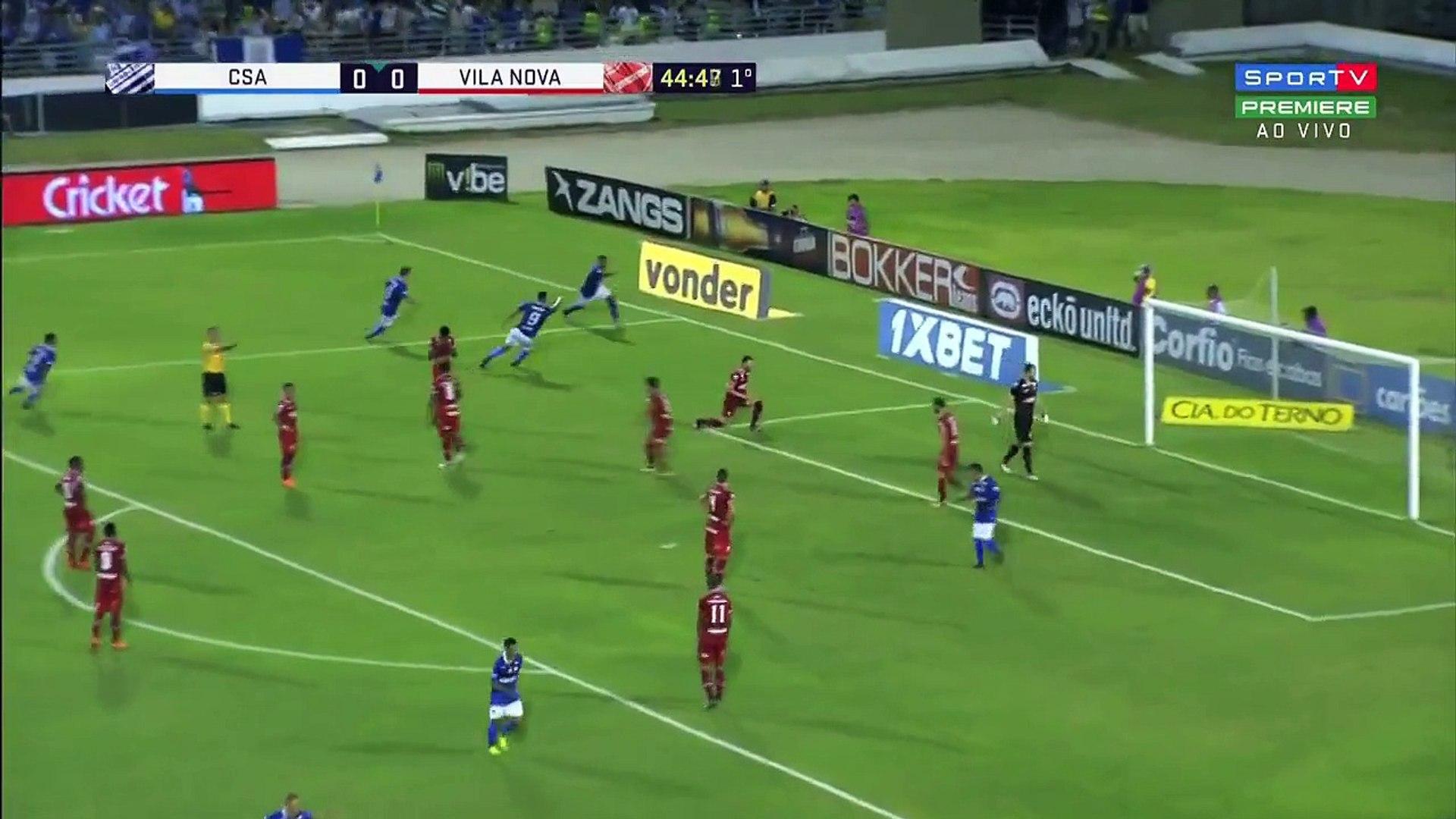 [GOL DE JHON CLEY] CSA 1 x 2 Vila Nova - Série B 2018