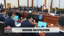 Gov't submits motion for parliamentary ratification of April summit declaration