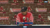 Red Sox Extra Innings: Alex Cora Explains Decision To Pull Chris Sale After First Inning