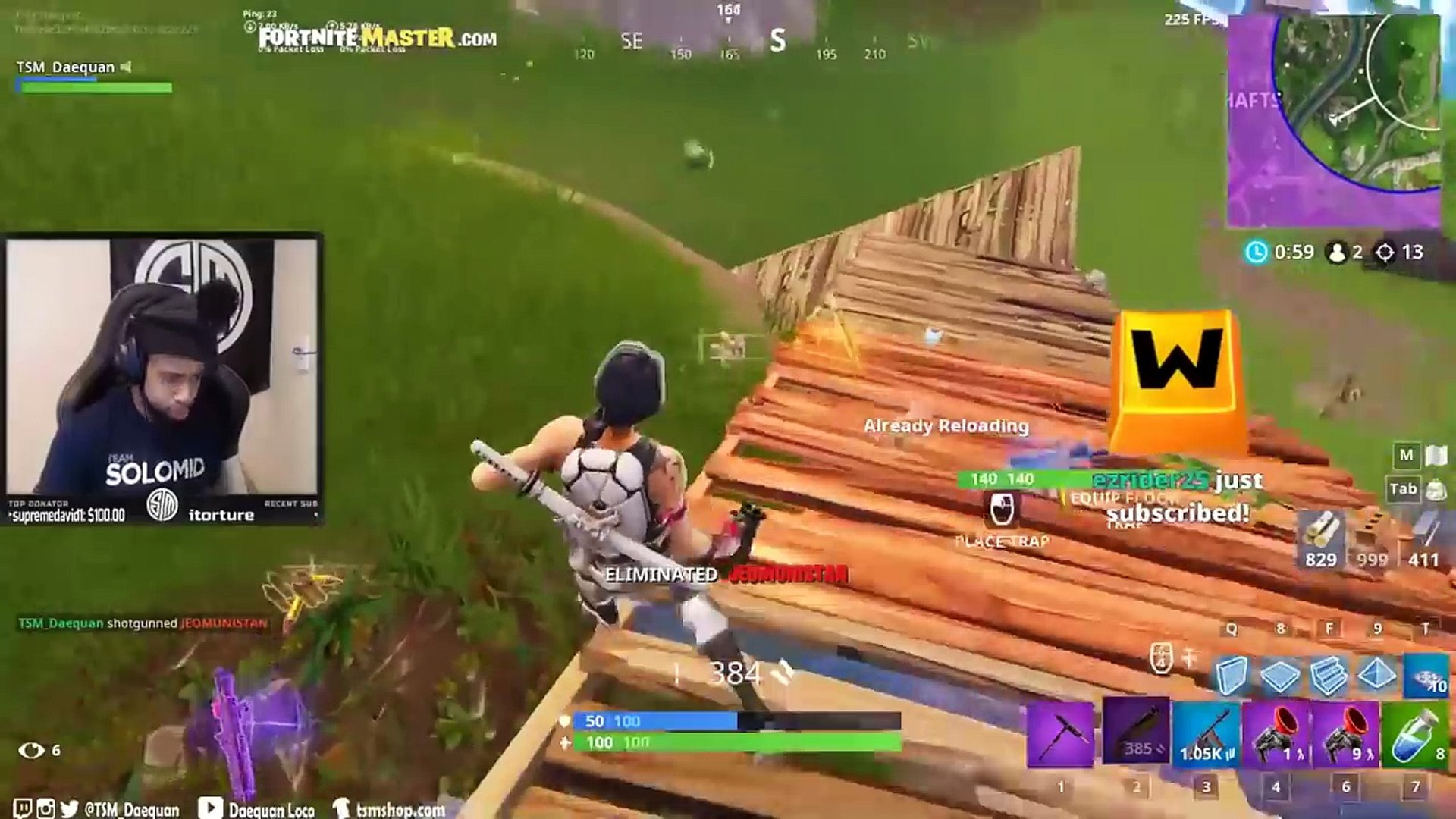 Streamers First Time Using *NEW* Silent Assault Rifle!   Fortnite Highlights & Funny Moments