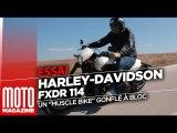 Harley-Davidson FXDR 114 - TEST RIDE par Moto Magazine
