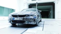 The new BMW 3 Series - Wind tunnel
