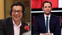 """Laurent Gerra imitant Benoît Hamon : """"On n'a jamais vu Miss France chausser du 48 et porter la barbe"""