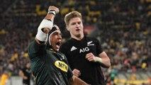Le premier essai de Cheslin Kolbe avec les Springboks face aux All Blacks