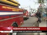 Kebakaran Hanguskan Puluhan Rumah di Rawa Badak
