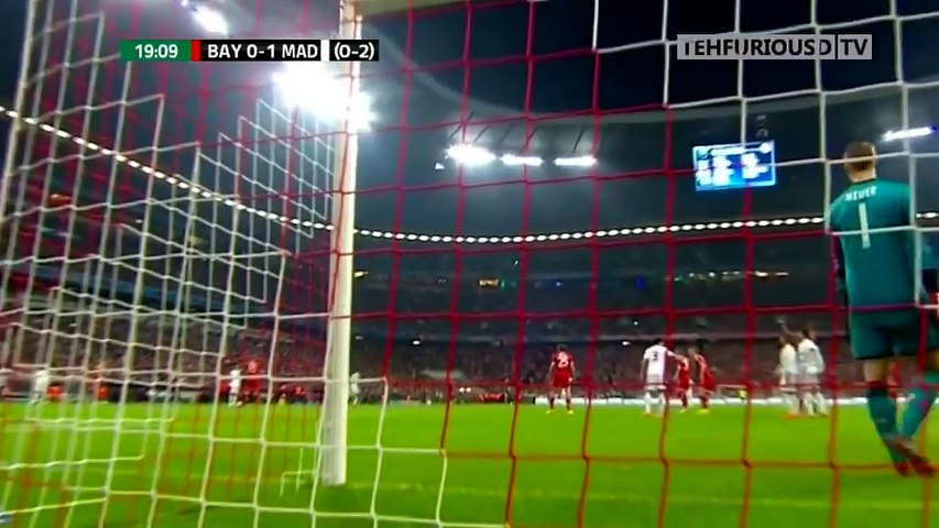 Bayern Munich vs Real Madrid 0-4 Goals and Highlights with English Commentary