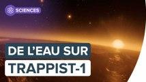 Les planètes de Trappist-1, des mondes riches en eau