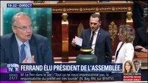 """Richard Ferrand mal élu ? """"Dans LaREM il y a certainement des gens qui n'étaient pas d'accord avec sa candidature """", commente Jean-Louis Bourlanges"""