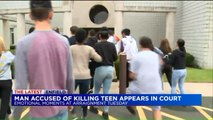 Chaos Erupts Outside Court Hearing for Suspect in Teen`s Stabbing Death