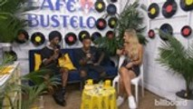 WATCH | Talking Collabs with The Knocks, Kim Petras, and More at the Café Bustelo Hot 100 Artist Lounge