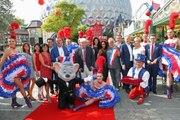 Moulin rouge, Luc Besson et dinosaures: le quartier français d'Europa-Park en vidéo