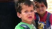 İdlib'den kaçan Suriyeliler
