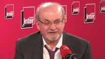 """Salman Rushdie : """"Trump je l'appelle le joker, je ne voulais pas son nom dans mon livre."""""""