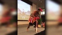 Ryder Cup - Finau fête sa sélection avec une danse polynésienne