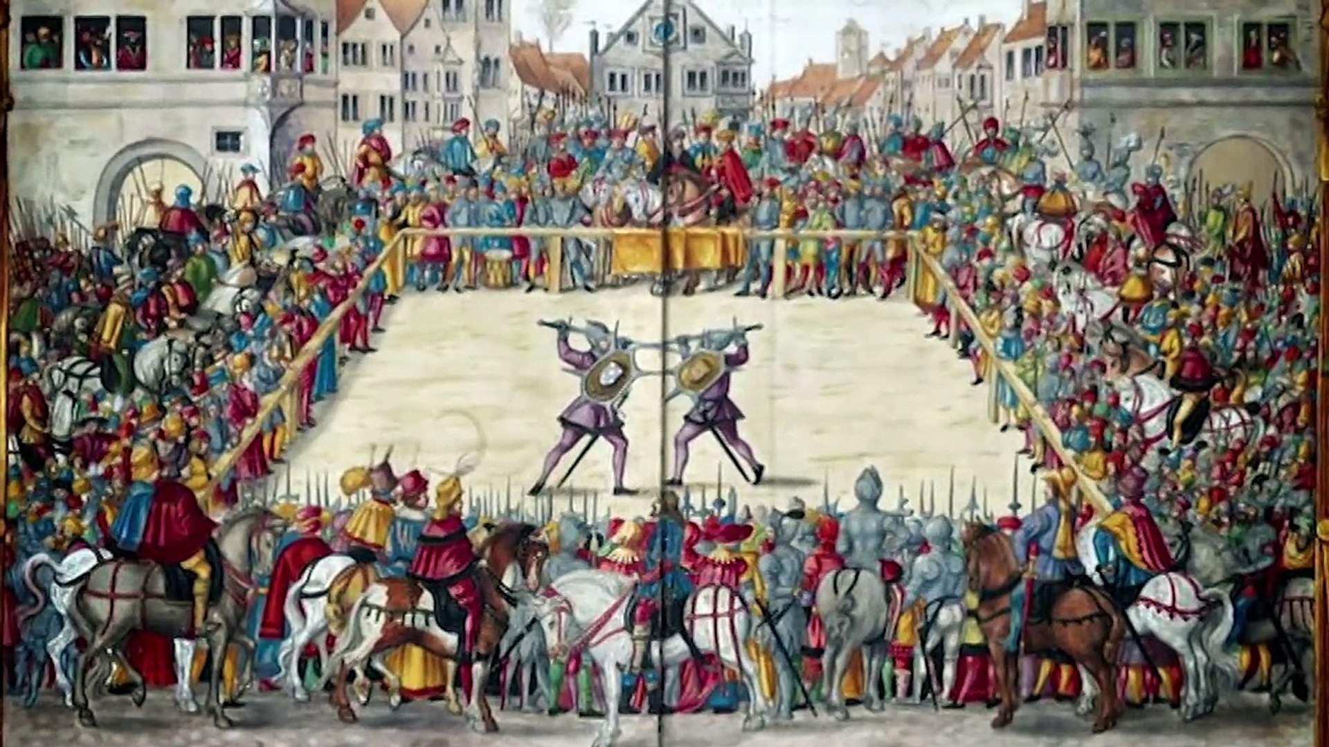 Medieval Fight Book - Middle Ages Weapons Documentary