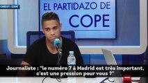 Mariano Díaz parle de son numéro 7 à Madrid