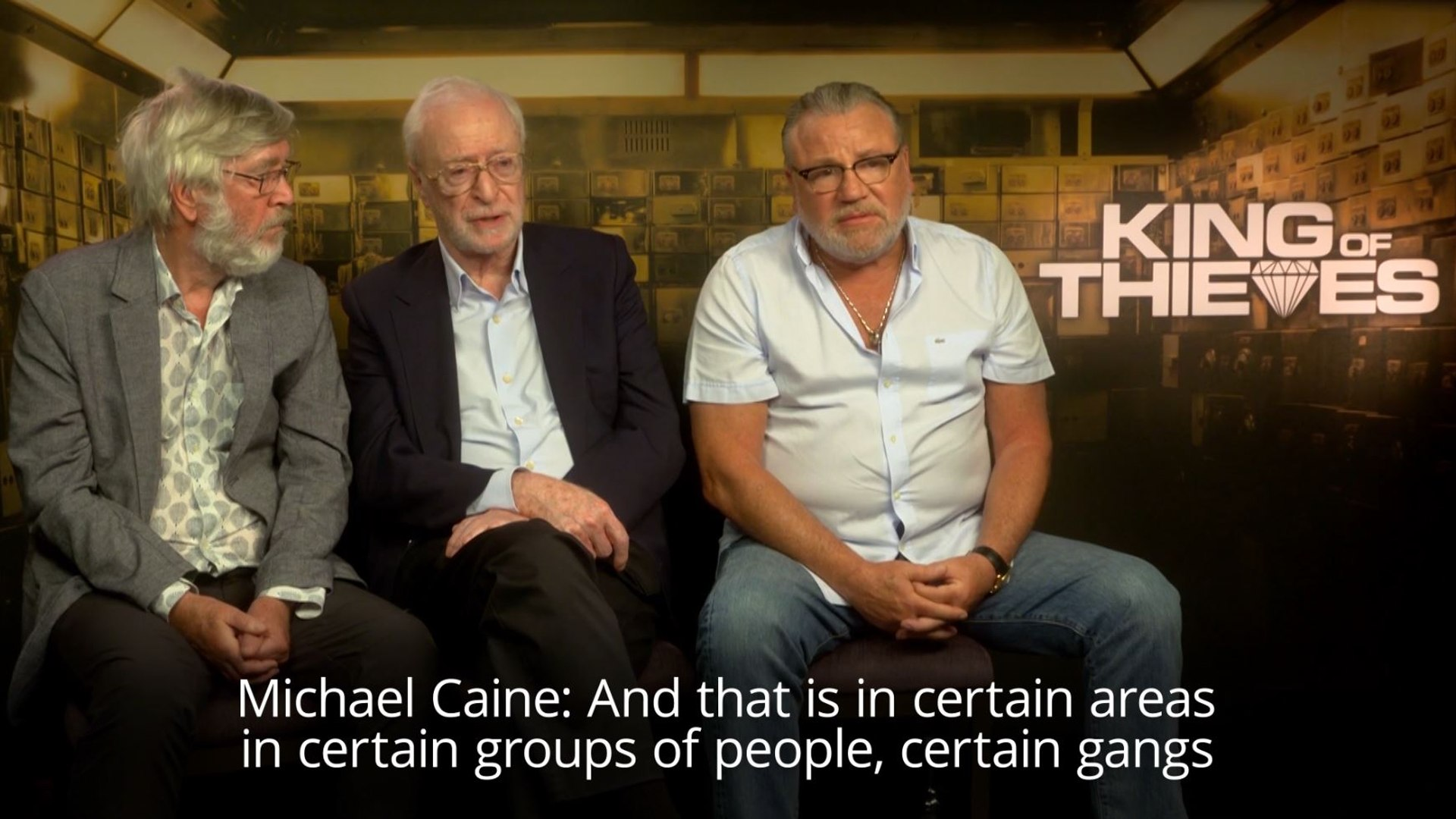 Sir Michael Caine calls police cuts 'unbelievable'