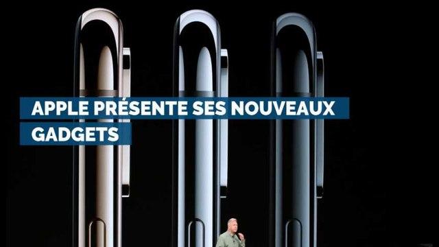 Apple présente ses nouveaux gadgets