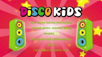 Disco Kids - Kolorowa Sukienka