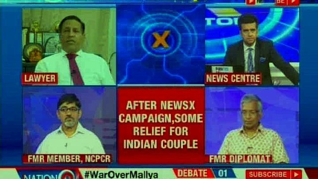 Bail for Indian couple in U.S, family thanks NewsX; couple fights for kids' custody